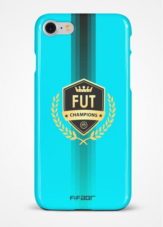 Capinha Fut Champions Azul Claro com Detalhe em Preto - Clique e Selecione seu Modelo