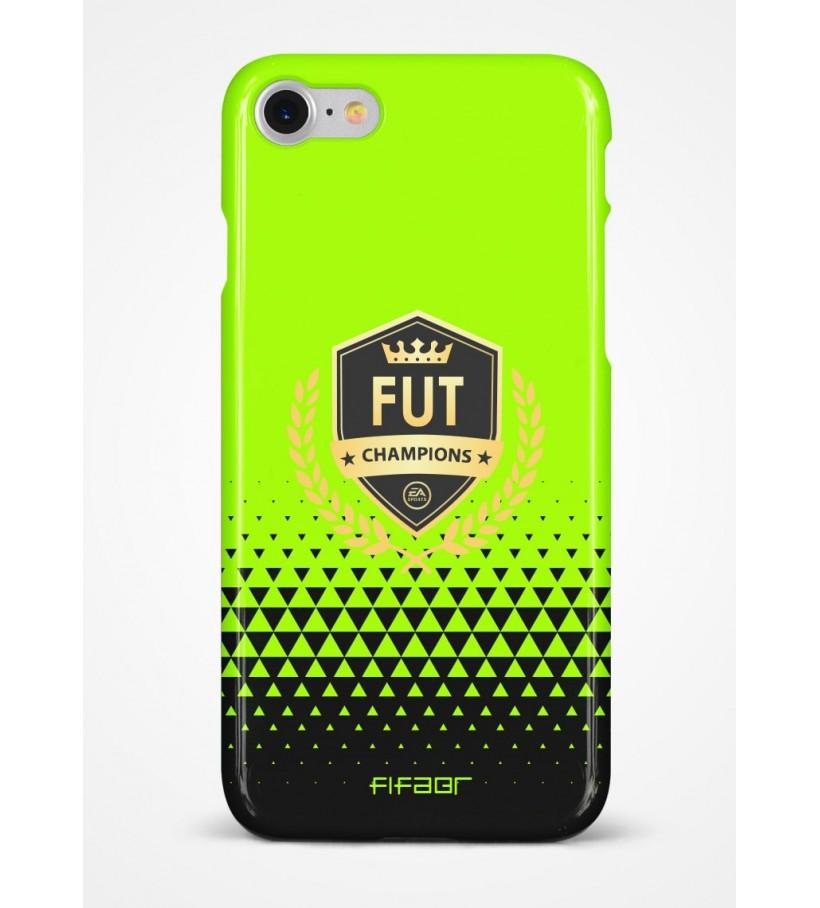 Capinha Fut Champions Verde Florescente e Preto - Clique e Selecione seu Modelo