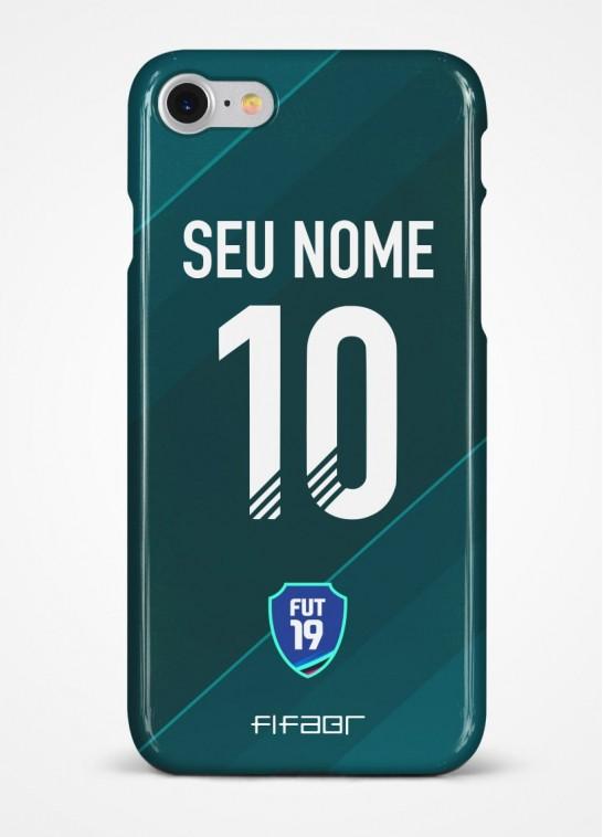 Capinha Ultimate Team Mobile Verde Escuro - Com Personalização - Selecione o Modelo