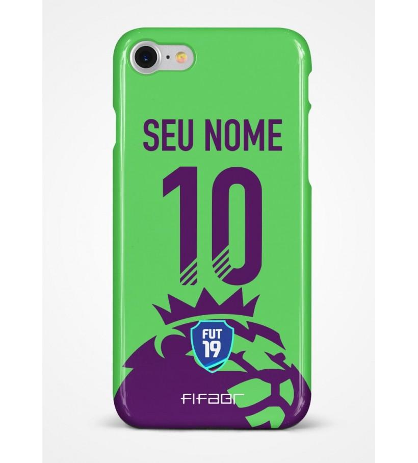 Capinha Ultimate Team Premier League Verde - Com Personalização - Selecione o Modelo