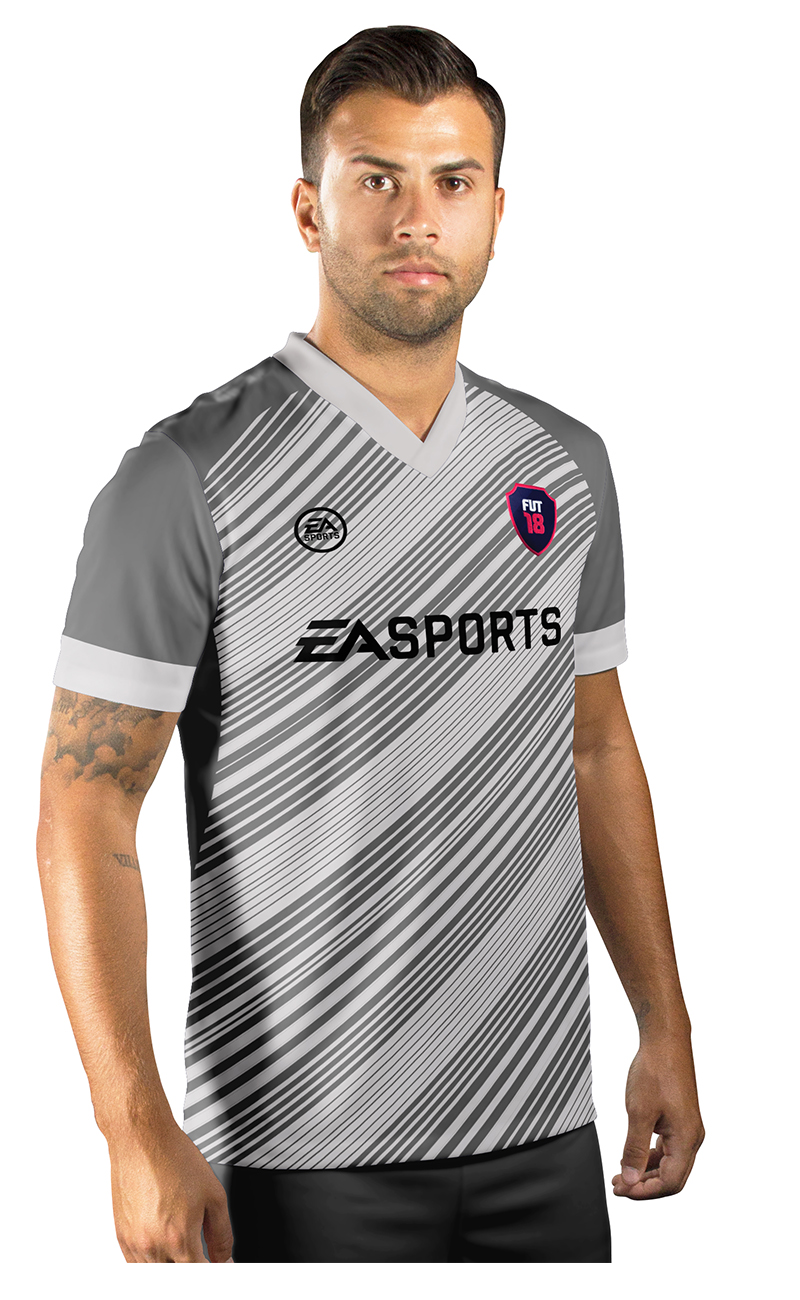 Camisa Ultimate Team Fut 18 Black Friday Cinza