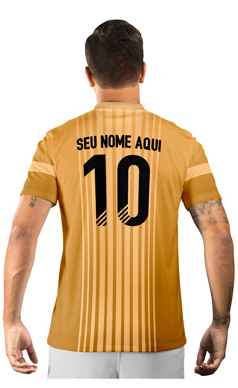Camisa Ultimate Team Fut 18 Fut Champions Gold