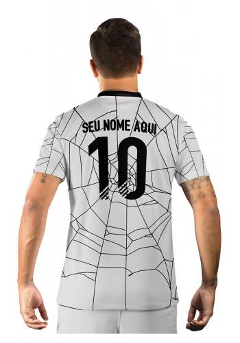 Camisa Ultimate Team Fut 18 Hallowen Branca