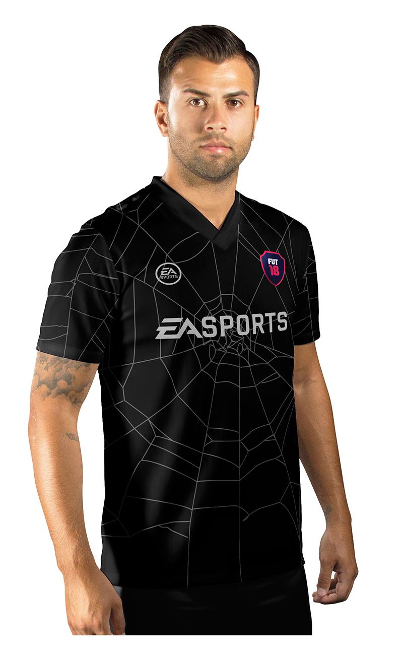 Camisa Ultimate Team Fut 18 Hallowen Preta