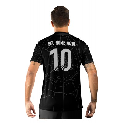 Camisa Ultimate Team Fut 18 Hallowen Preta