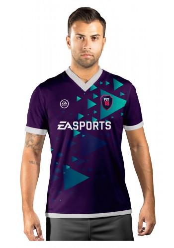 Camisa Ultimate Team Fut 18 Arrows Roxa e Azul