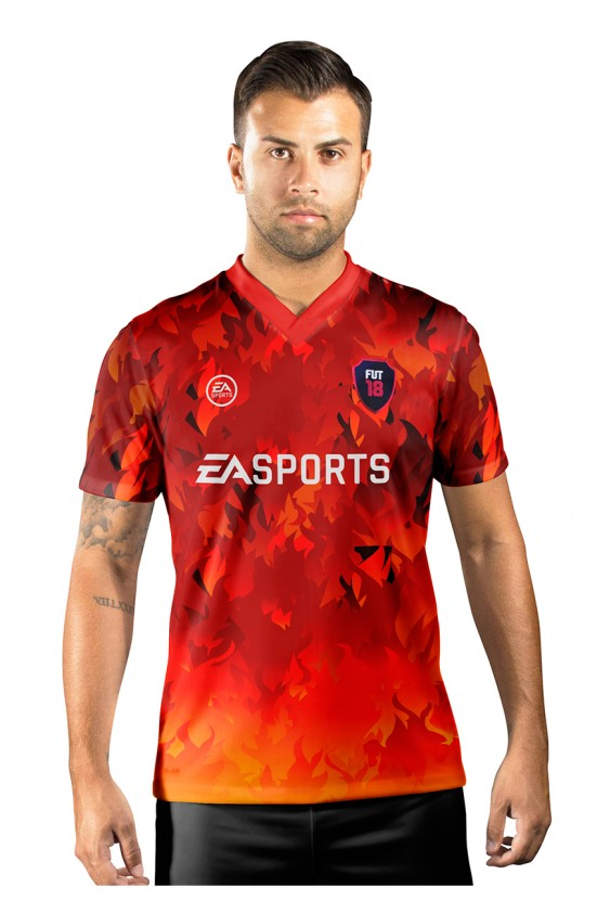 Camisa Ultimate Team Fut 18 Territories Fire