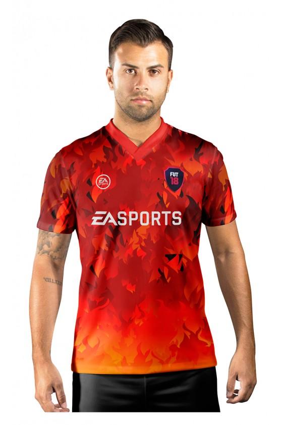 Camisa Ultimate Team Fut 18 Territories Fire