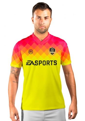 Camisa Fut Champions Ultimate Team FIFA 17 Amarela degradê