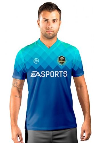 Camisa Fut Champions Ultimate Team FIFA 17 Azul degradê