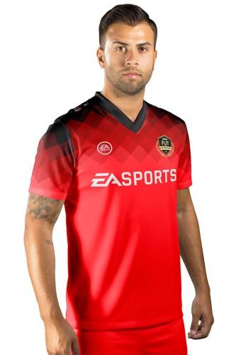 Camisa Fut Champions Ultimate Team FIFA 17 Vermelha degradê